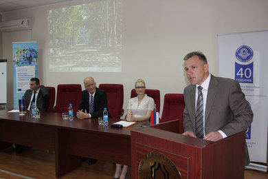 "The ""Development and management of doctoral studies"" workshop held at the University"