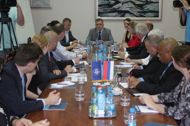 Delegation of the City of Dayton visiting University of Banja Luka