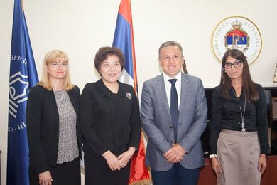 Ambassador of China to Bosnia and Herzegovina visited the University of Banja Luka