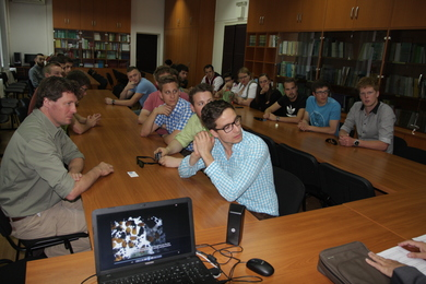 Visit of the representatives from the University of Weihestephan