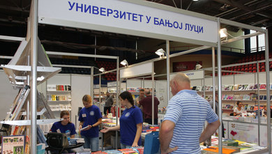 Participation of the University of Banja Luka at 22nd Banja Luka Book Fair