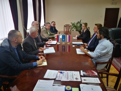 Rector Zigaljev Visited the University of Banja Luka