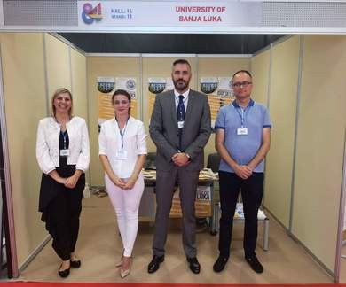 University of Banja Luka Was Presented at the 84th International Fair in Thessaloniki