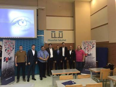Head of the University Computer Center Attended a Lecture at the University of Mostar