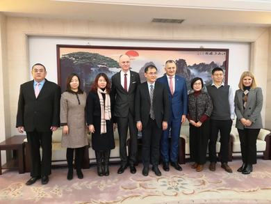 Cooperation between the Faculty of Medicine and Tianjin Medical University Agreed