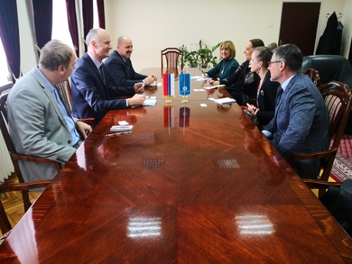 Meeting of the Rector and the Public Affairs Officer at the Embassy of the United States of America