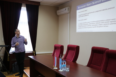 'Open Science and NI4OS-Europe Project' Training Held